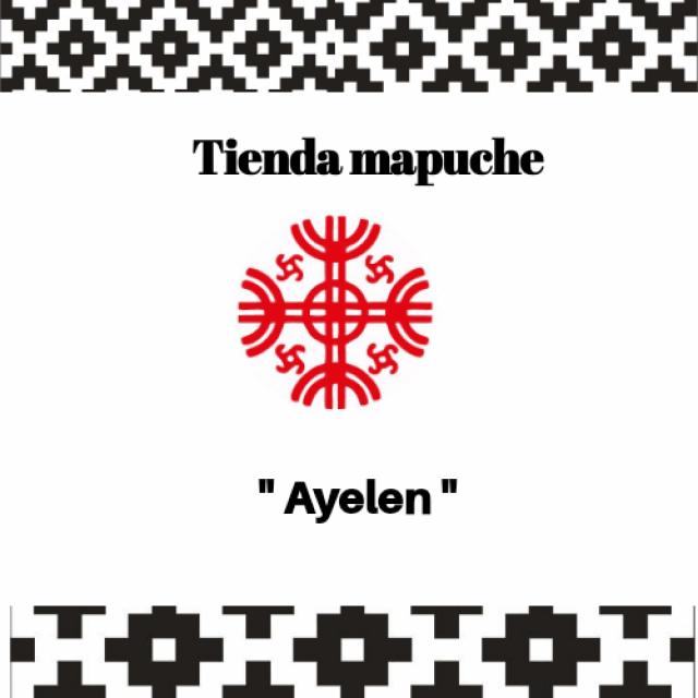Tienda Mapuche Ayelen. Mujer Emprendedora. Ascendencia Indígena