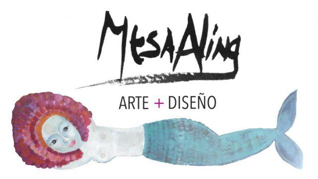 Mesa Aling arte y diseño. Mujer Emprendedora